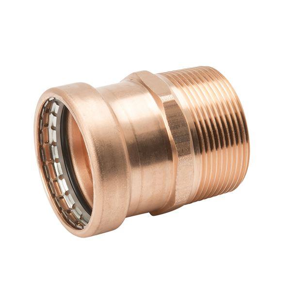 Item pf copper male adapter p mpt