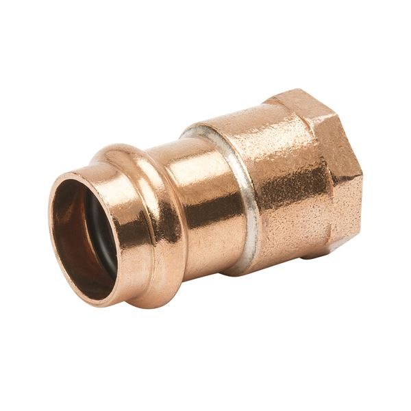 Item pf copper female adapter p fpt