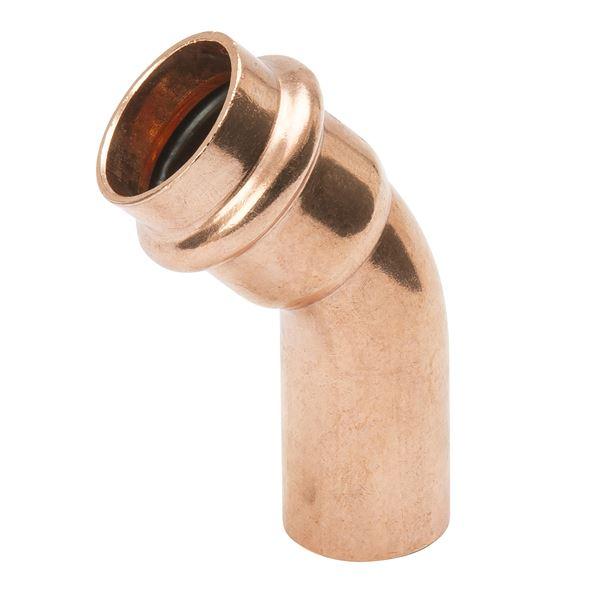 Item pf copper elbow º p ftg