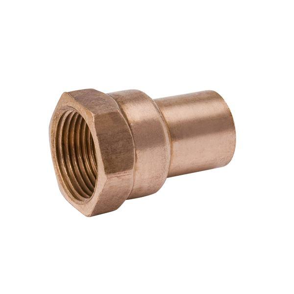 "1-1//4/"" Copper Female Adapter C X FIP Adapter MUELLER USA  W01271H"