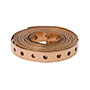 WS-1101 - (25 Ft. Roll Copper Tube Strap Perforated) C
