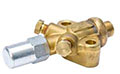 Brass Compressor Valves - Double Port, Solder