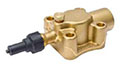 Brass Compressor Valves - Four-Bolt Mounting, Solder