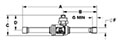 CYCLEMASTER® Ball Valves - Solder - Dimensions (2)
