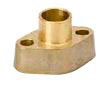 Forged Brass Solder Flanges And Gaskets - 2 Bolt, Serrated Gasket Surface