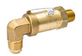 SAFETYMASTER® Pressure Relief Valves - Angle NPTFE to Flare